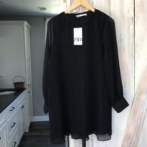 Zara Pleat Dress